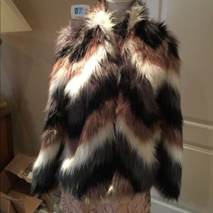 Forever 21 Size S Faux Fur